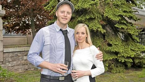 Viime vuonna avioitunut muusikkopari Koop Arponen ja Cordelia-vaimo vakuuttivat, ettei heillä ole musiikillisia mielipide-eroja.