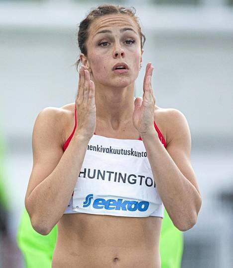 Maria Huntington voitti viime kesänä SM-kultaa naisten 7-ottelussa.