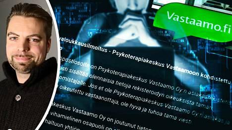 Ville Tapion mukaan kaksi Vastaamon henkilökuntaan kuulunutta työntekijää salasi tietomurron häneltä.