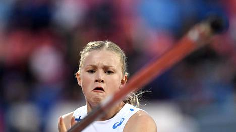 Wilma Murto avaa ulkoratakautensa 19-vuotiaiden EM-kilpailuissa.