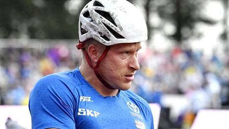Leo-Pekka Tähti kelasi uuden 200 metrin SE-ajan lauantaina Lapinlahdella. Kuva Kalevan kisoista viime viikonlopulta.