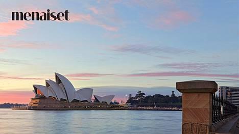 Kuvassa näkyy Sydneyn oopperatalo, mutta sitä tietoa et tässä testissä tarvitse.
