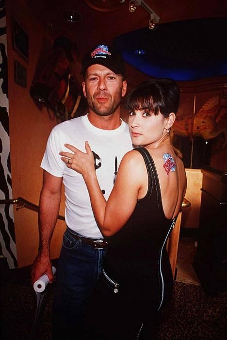 Bruce Willis oli yksi Demi Mooren elämän suurista rakkauksista.