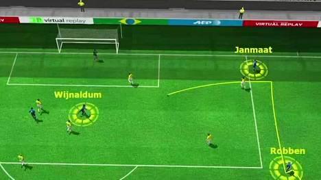 MM-kisat 2014: Brasilia-Hollanti 0-3