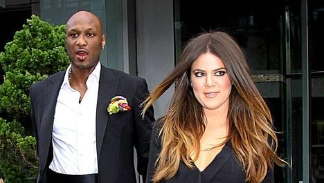 Lamar Odom ja Khloe Kardashian.