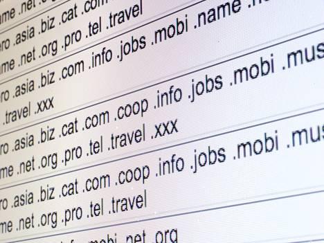 Ylätason domain-nimiä hallitsee Icann.