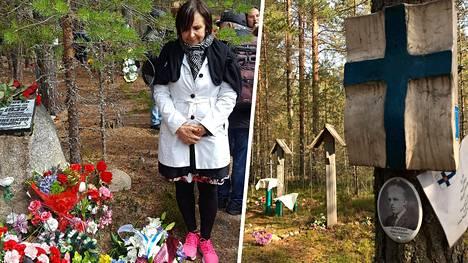 Suomen Pietarin-pääkonsulaatin pääkonsuli Anne Lammila vieraili elokuun alussa sekä Sandarmohin että Krasnyi borin joukkohaudoilla Karjalan tasavallassa.