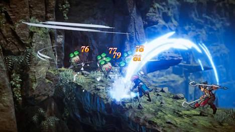 Microsoft esitteli paljon pelejä. Eiyuden Chronicle: Hundred Heroes on vuoropohjainen strategiapeli.