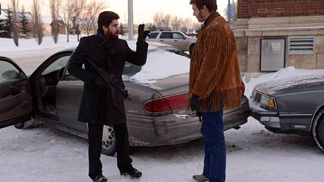 Adam Goldberg on Mr. Numbers ja Russell Harvard on Mr. Wrench Fargo-sarjassa.