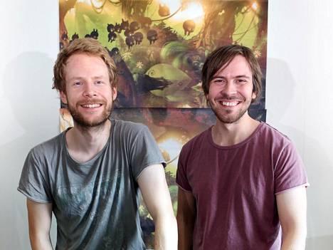 Juhana Myllys ja Johannes Vuorinen perustivat Frogmindin vuonna 2012. Peliyhtiön henkilöstömäärä on sen jälkeen kasvanut tusinaan.