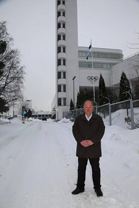 Olympiastadion on tullut tutuksi projektipäällikkö Aulis Toivoselle, sillä hän on ollut rakennusprojektissa mukana 11 vuoden ajan.