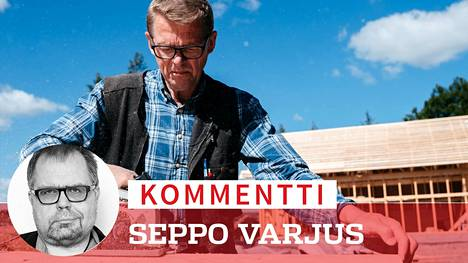 Matti Vanhasen omakotitalojen työmaat ovat Suomen kansantalouden rakastetuimpia vertauksia.