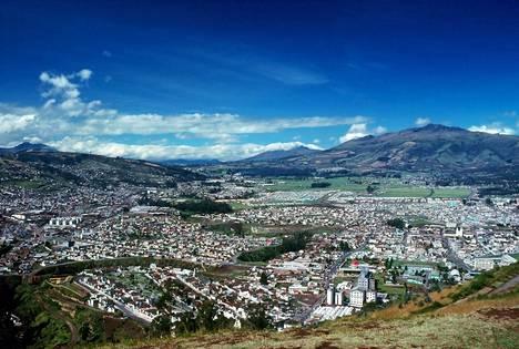 Ecuador tunnetaan upeana luontokohteena.