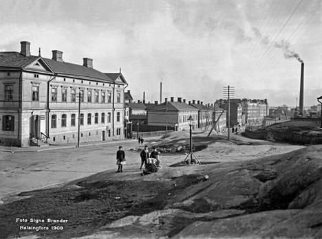 13. Toinen linja vuonna 1908.