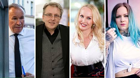 Ilkka Vainio, Joel Hallikainen, Laura Paloheimo ja Sana valitsivat raittiin elämän.