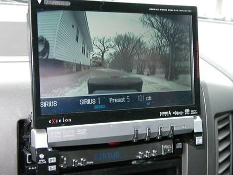 Nissanin peruutuskamera