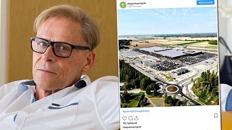 Toivo Sukari aikoo myydä marraskuussa avattava Seinäjoen Ideapark heti kun sopiva ostaja löytyy.