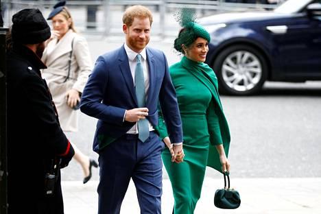 Jamesin mukaan Harry haki jatkuvasti turvaa vaimostaan osallistuessaan viimeiseen edustustilaisuuteensa.