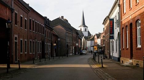 Gangeltin pikkukaupunki sijaitsee Saksassa Alankomaiden vastaisella rajalla.