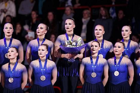 Helsinki Rockettes saavutti MM-pronssia.