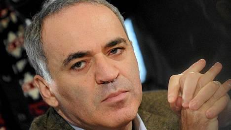 Garri Kasparov on Venäjän opposition näkyvimpiä hahmoja. Kuva viime vuodenvaihteesta.