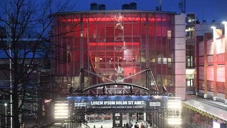 Slush järjestettiin Helsingin messukeskuksessa.