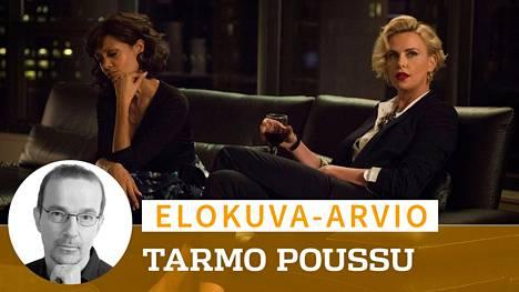 Gringo-elokuvan naispääosia näyttelevät Thandie Newton ja Charlize Theron.