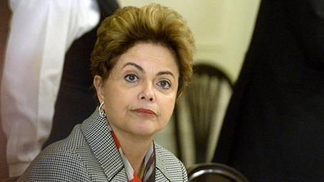 Brasilian presidentti Dilma Rousseff vieraili hiljattain Suomessa.