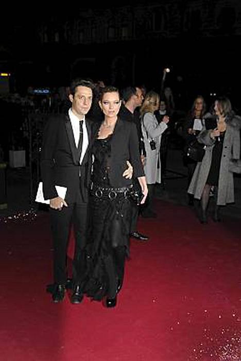 Jamie Hince ja Kate Moss.