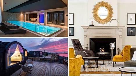 L'Embitu, Iglupark ja Hotel Telegraaf tarjoavat suomalaisille luksusta kohtuubudjetilla.