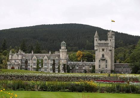 Nykyinen Balmoralin linna valmistui vuonna 1856.