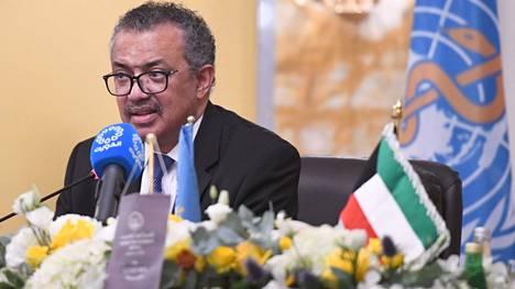 WHO:n pääjohtaja Tedros Adhanom Ghebreyesus vaati koronarokotteiden tasapuolisempaa jakoa.