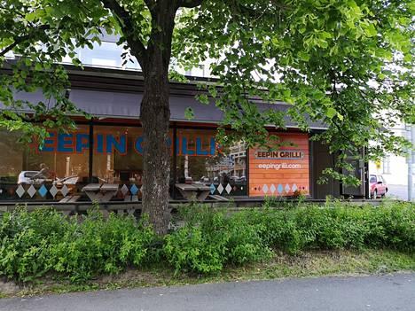 Eepin Grilli sijaitsee Mikkelissä Kirkkopuiston kupeessa.