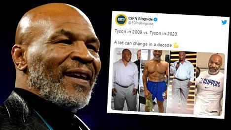 Nyrkkeilylegenda Mike Tyson haluaa palata kehään hyväntekeväisyysottelun merkeissä.