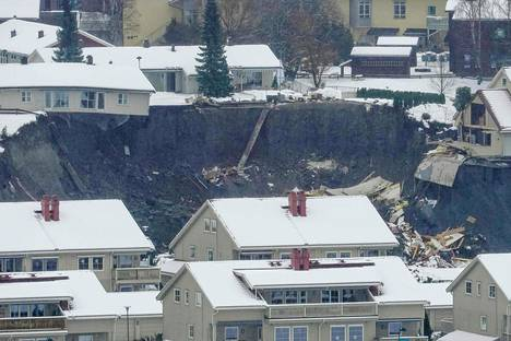 Gjerdrum on iso asuinalue, jossa asuu useita tuhansia ihmisiä.