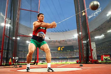 Ivan Tihon kuvattuna edellisessä kansainvälisessä kilpailussaan, Pekingin olympiafinaalissa 2008.