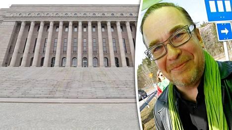 Kansanedustaja Jyrki Kasvi (vihr) kannattaa lobbarirekisteriä, mutta säilyttäisi mahdollisuuden tavata vieraita myös julkistamatta heidän nimiään.