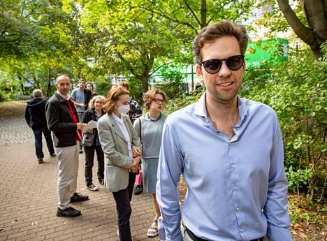 Christian Müller ei ole ihan varma, seuraako vaalien jälkeen minkäänlaista muutosta.