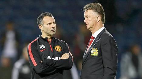 Ryan Giggs toimii nykyisin Louis van Gaalin apuvalmentajana Manchester Unitedissa.
