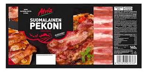 Atria Suomalainen pekoni on nyt nimellä Atria Pekoni.