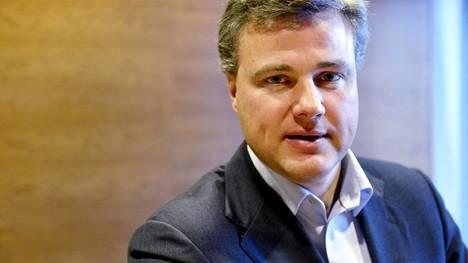 Comptelin toimitusjohtaja Juhani Hintikka lokakuussa 2012.
