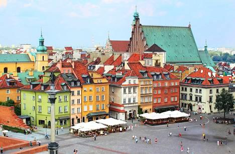 Varsova oli selvityksen toiseksi halvin kulttuurikaupunki.