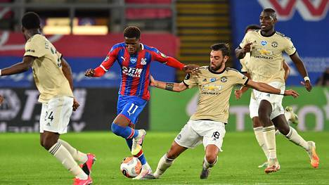 Manchester United väänsi voiton Crystal Palacesta.