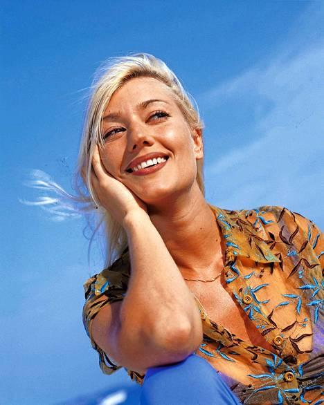 Maria Guzenina 1997. Tuona vuonna loppui hänen pestinsä MTV:llä.