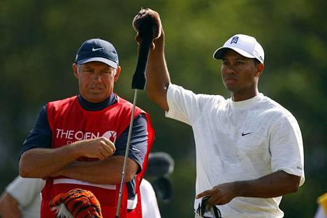 Tiger Woods luotti pitkään ystäväänsä ja caddieensä Steve Williamsiin.