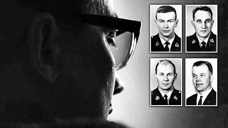 Tauno Pasanen kärsimässä tuomiotaan vuonna 1970.