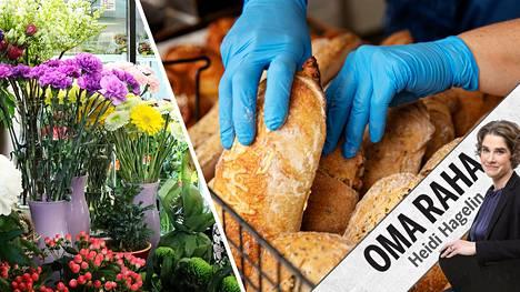 Jos haluaa lähikukkakaupan tai leipomon olevan hengissä vielä koronan jälkeen, siellä kannattaa käydä ostoksilla. Tai kysyä, pystyykö liike toimittamaan kotiin.