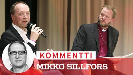 Jussi Halla-aho osallistui keskustelutilaisuuteen yhdessä Teemu Laajasalon kanssa Kirkkopäivillä Jyväskylässä.