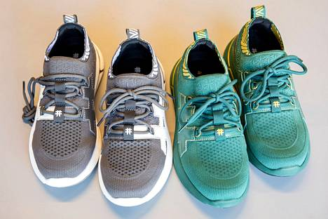NOMAD-lanseerauksessa esitellään Rensin lenkkarit. Yhä edelleen kenkien raaka-aineena toimivat kahvinporot ja käytetyt muovipullot. Kengät ovat aiempaa hengittävämmät.