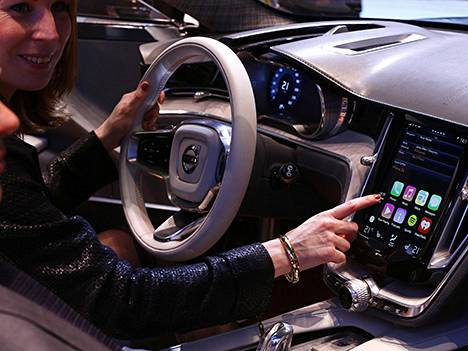 Applen kehittämä autosovellus on CarPlay.